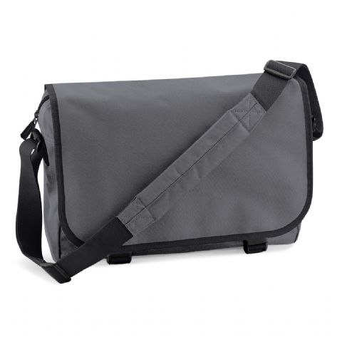 CHOOSE DESIGN - GRAPHITE GREY MESSENGER BAG